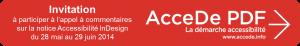 logo du projet de commentaire d'une notice pour des PDF accessibles en InDesign.